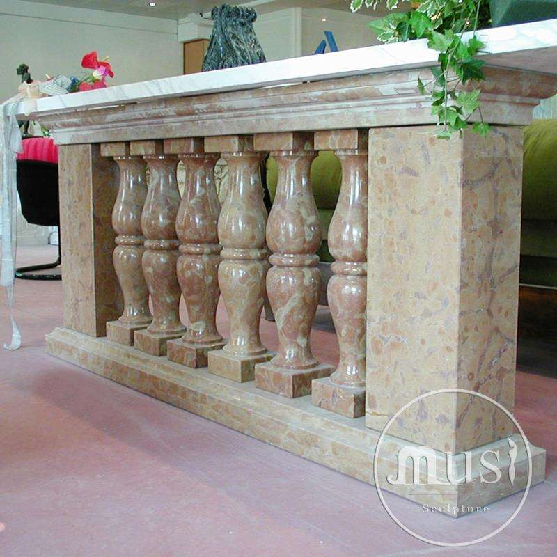Stone Carving Custom Sized Granite Balustrades Handrails