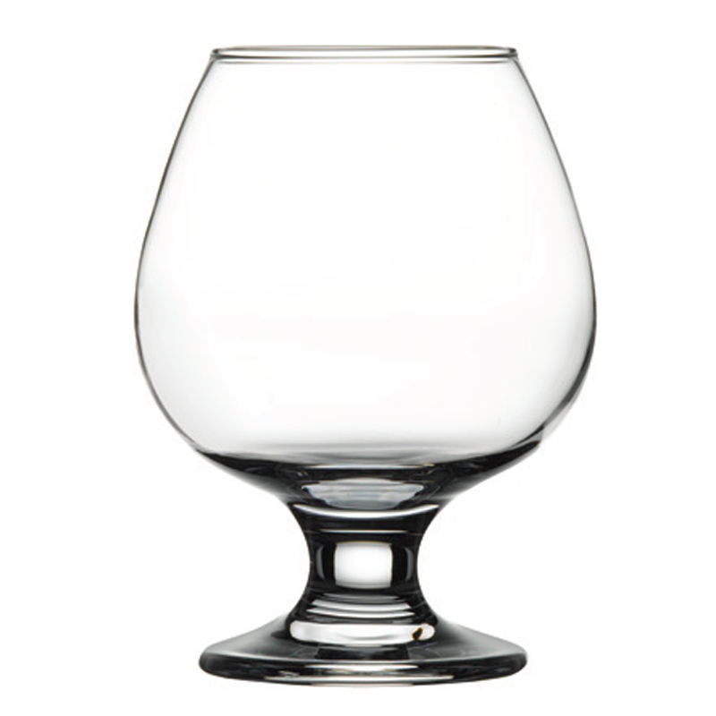 short and fat glass wine cup exquisite goblet