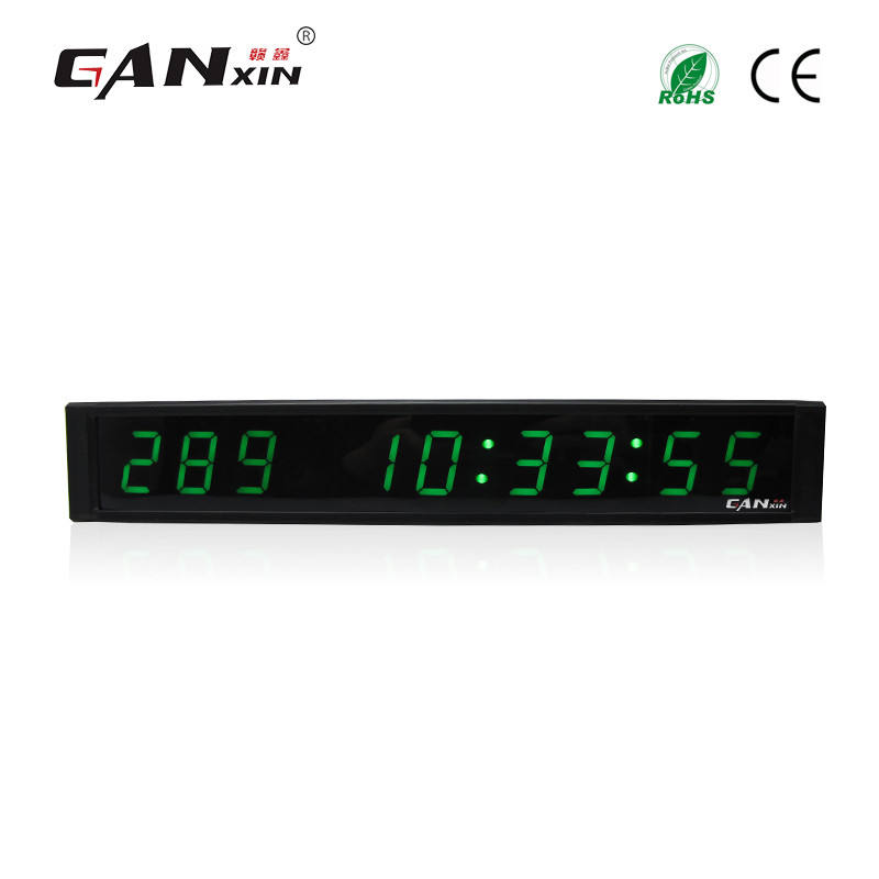 [GANXIN]Programmable Led Digital Days Timing Clock Long Warranty
