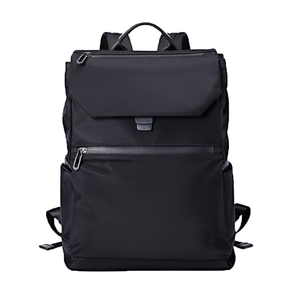 19SA-8039M SGS passed factory low MOQ waterproof zippered slim 14 inch laptop backpack laptop bag pack