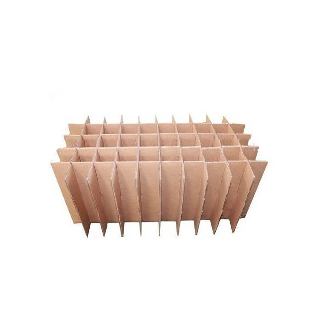 Factory Wholesale Custom Brown Cheap Corrugated Insert Divider Cardboard Box Divider