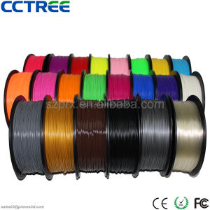 Super tough CCTREE 3d printer filament fabriek 3mm 1.75 PLA filament