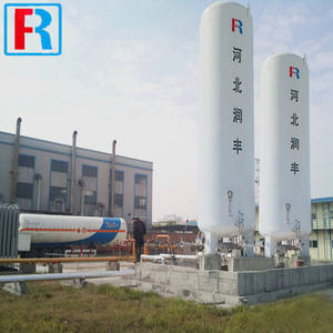 1m3 0.8/1.6/2.3Mpa vertical cryogenic liquid storage tank 1000L for LNG LAr LN2 LO2
