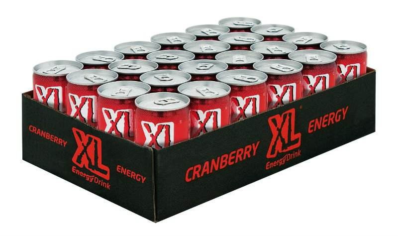 xl cranberry energie- 150 ml