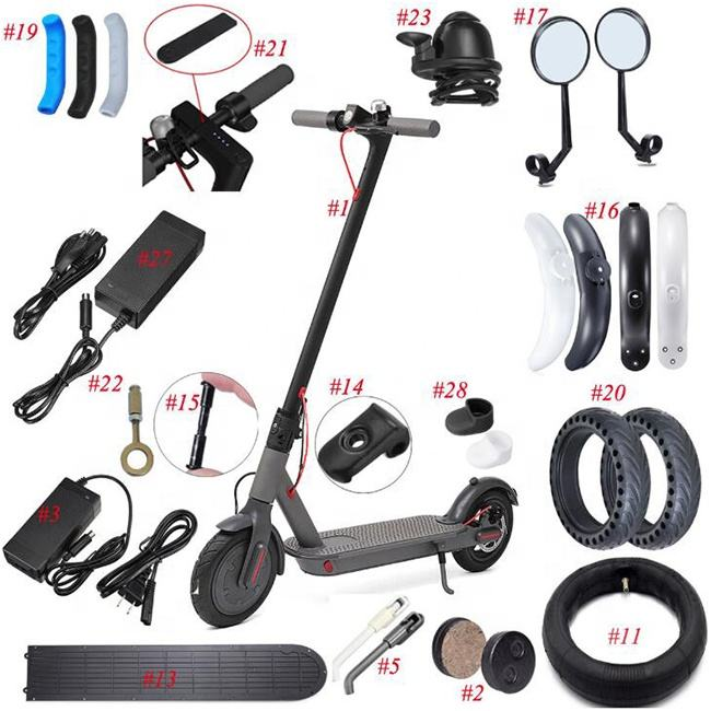 Repair Spare Parts Replace Accessories For Mijia M365 Electric Scooter