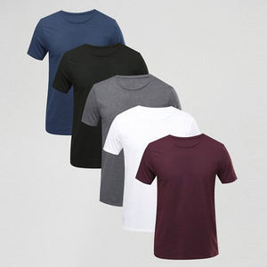 Men's short sleeve t-shirt, made of 90%polyester,10%spandex with breathable fabric