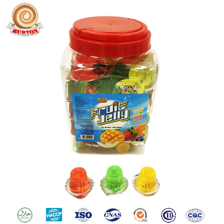 Hot Selling Halal Gemengde Fruit Jelly in <span class=keywords><strong>Plastic</strong></span> Cup