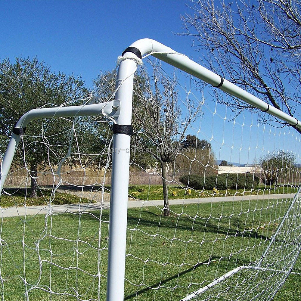 Factory Wholesale Full Size Football Goals Soccer Practice Net