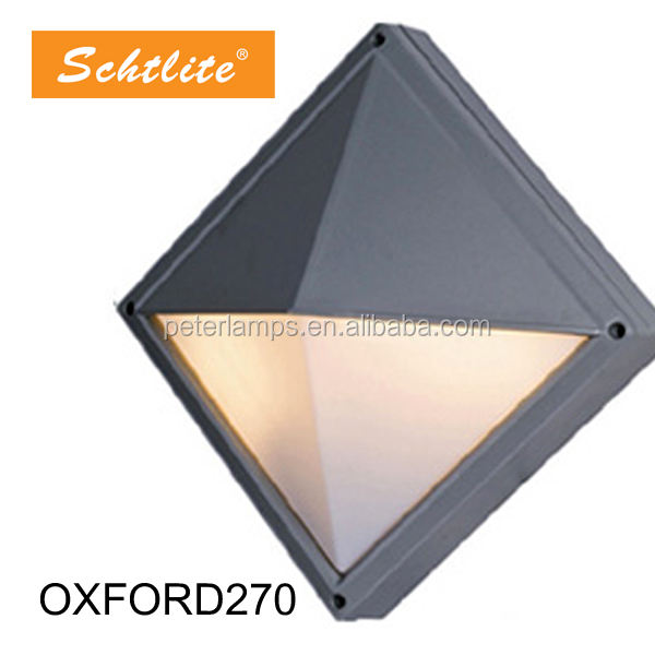 OXFORD 7 outdoor waterproof IP65 square E27 G24 wall ceilling light