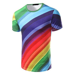 100 polyester alle sublimatie t-shirts designer ontwerp cool teeshirt