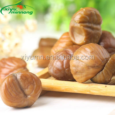Dried organic chestnuts kernels with Natural flavor