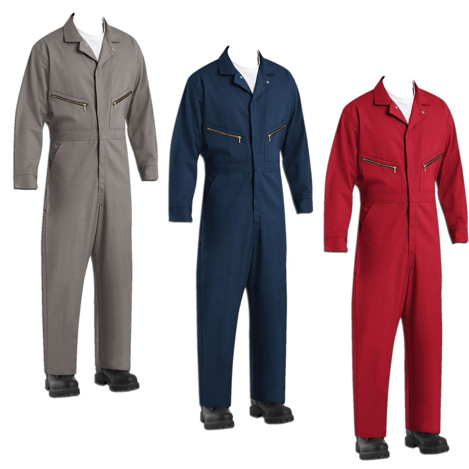 Worker Wear Coverall Working Uniform Cotton Polyester Safety Clothing