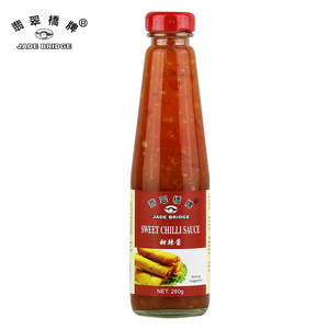 500 g Good taste hot Sweet Chili Sauce Bulk Wholesale Or OEM with Factory Price