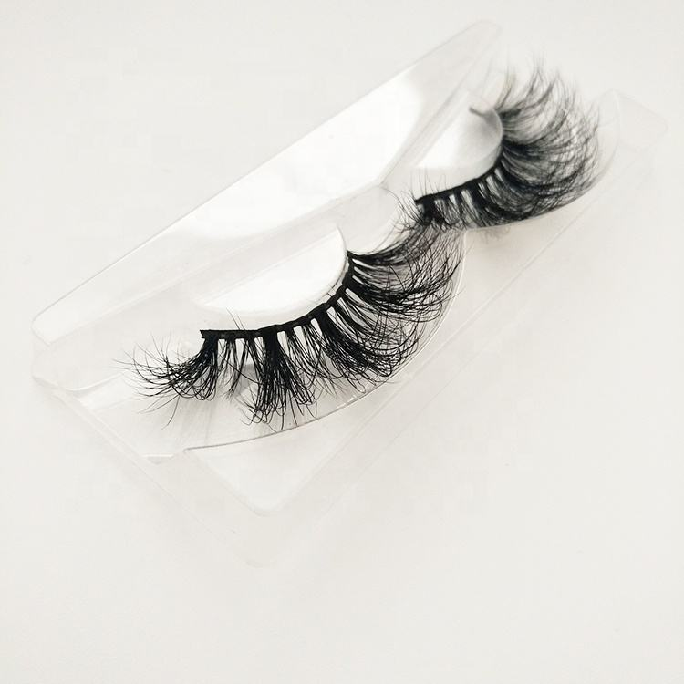 Private Label 25mm D curl 6D mink eyelashes Siberian mink 25mm eyelashes 5d 6D mink eyelashes packaging box
