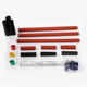CROP 11KV indoor XLPE three core Heat Shrinkable cable termination kit