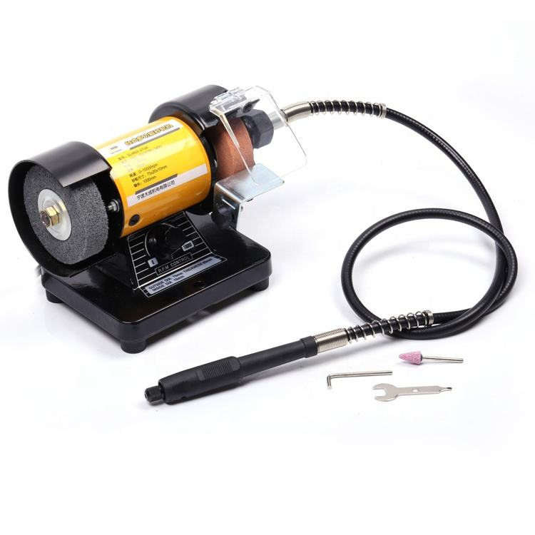 professional custom electric mini variable speed jewelers bench top surface angle grinder machine
