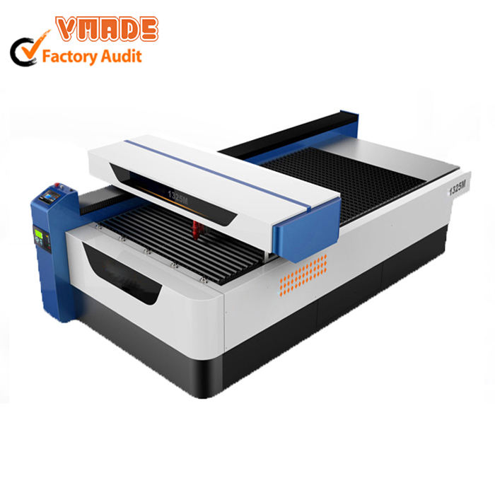 mixed co2 200W 1325 metal cnc laser cutting machine for metal and acrylic cutting machine