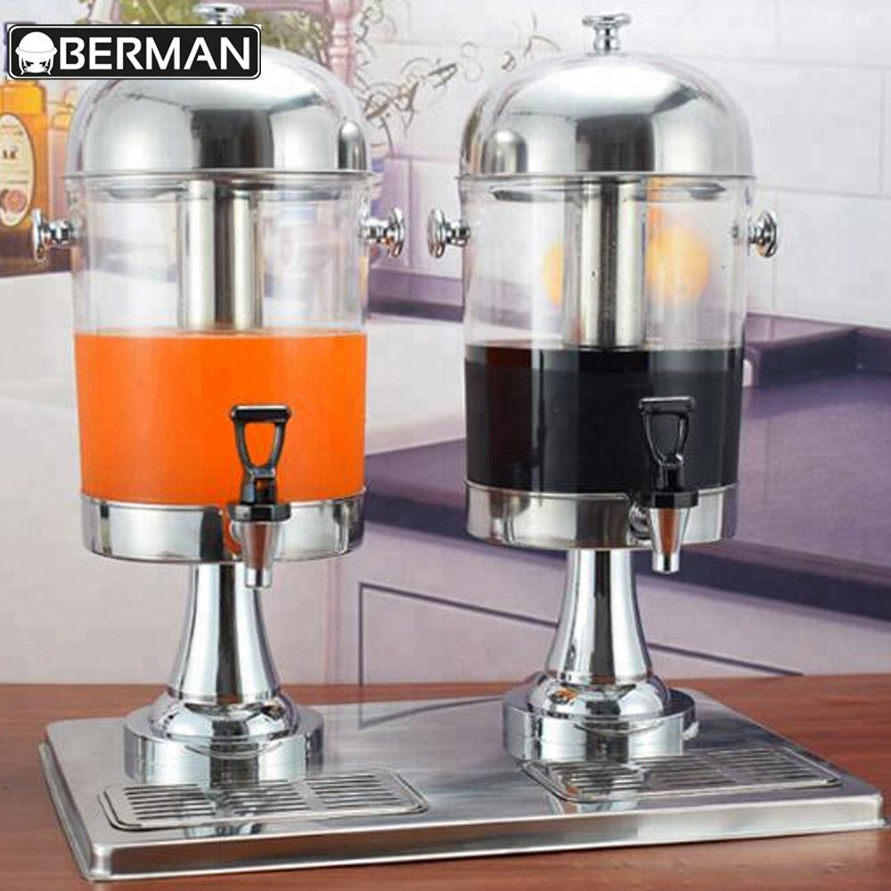 China factory price stock hot and cold milk tea/beverage drink dispenser /catering juicer for 16L