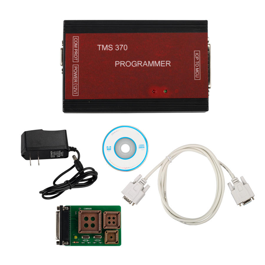 High Quality TMS 370 Mileage Programmer FOR Car Radio/Odometer/Immo TMS370 Programmer