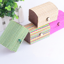 Bamboo Crafts Suppliers Colorful Bamboo Gift Boxes