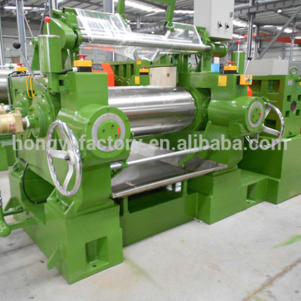 two roll rubber open mixing mill/rubber mixing mill