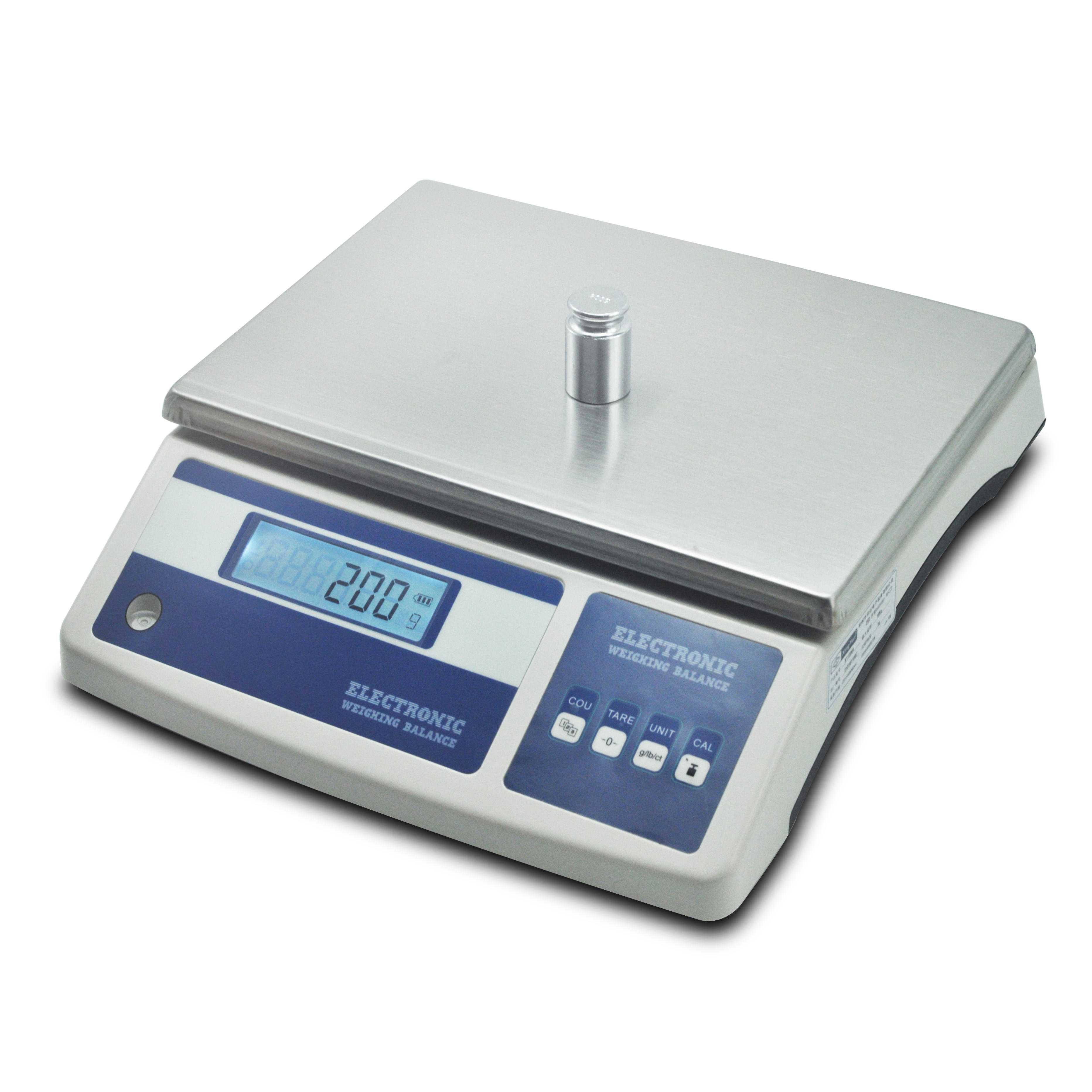 20kg 0.1 digital electronic scale balance with double pan