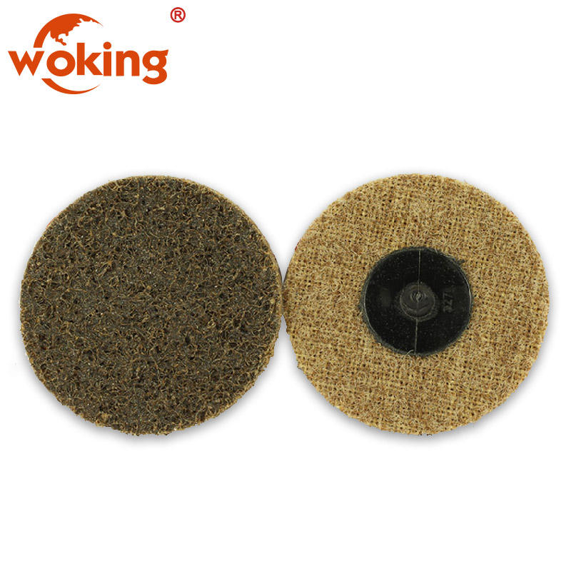 non-woven roloc disc for polishing