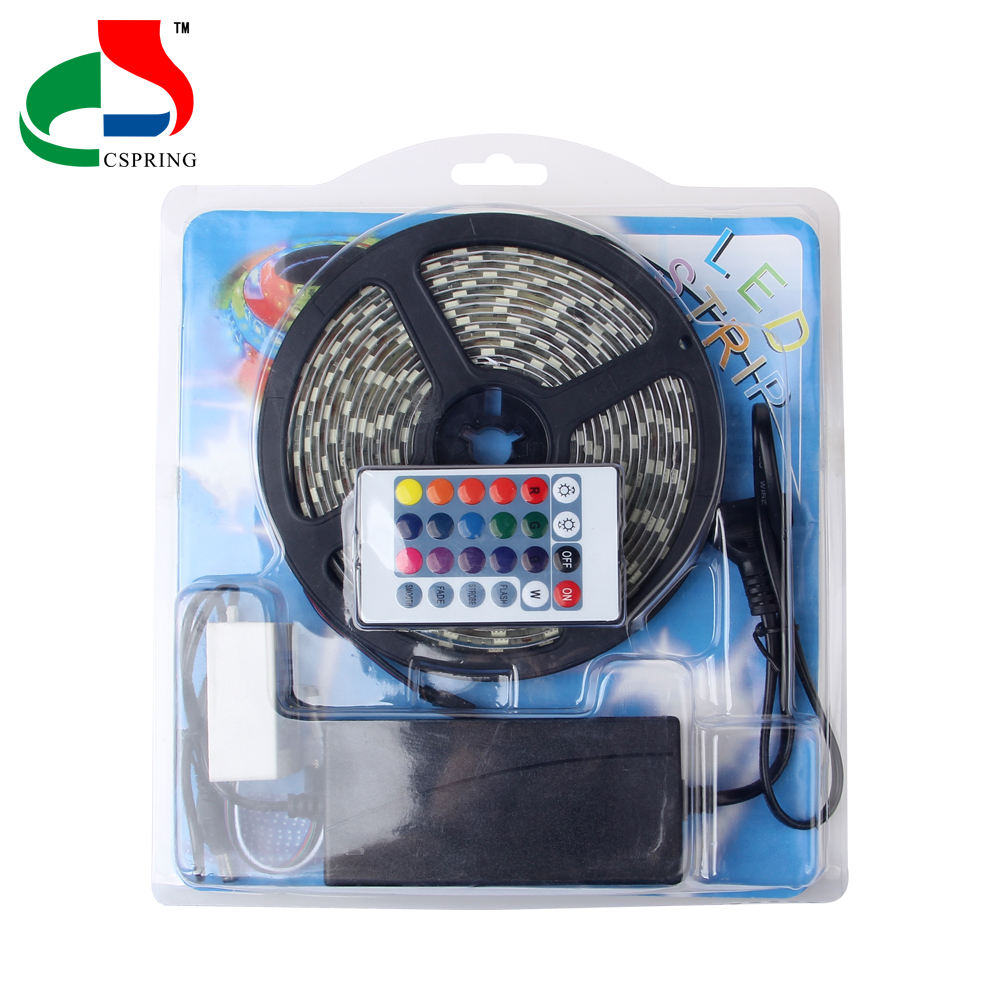 China Suppliers Led Flexible Strip 5050 12V 60LEDS/M IP20 RGB 5M per set