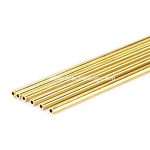 Single Hole EDM Brass Tubes,Multi Hole EDM Brass Electrode Tubes Diameter 0.1-8.0mm