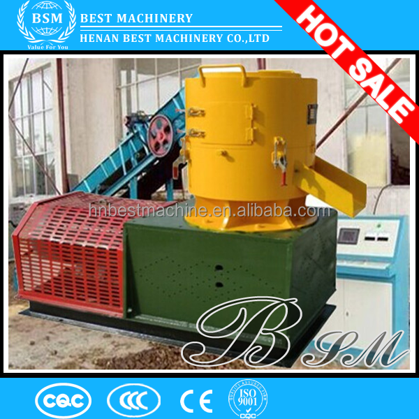 Palm tree green energy /red wood pellet machine flat die wood pellet machine