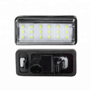 Car License Plate Lamp Dc12V Led Bulb for Toyota Land Cruiser Auto Light