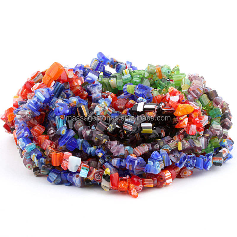 Top Colorful Gemstone Rubble Necklace Pendulum for Gift & Decoration in Bulk Wholesale/ Hot Sale Fashional Rubble