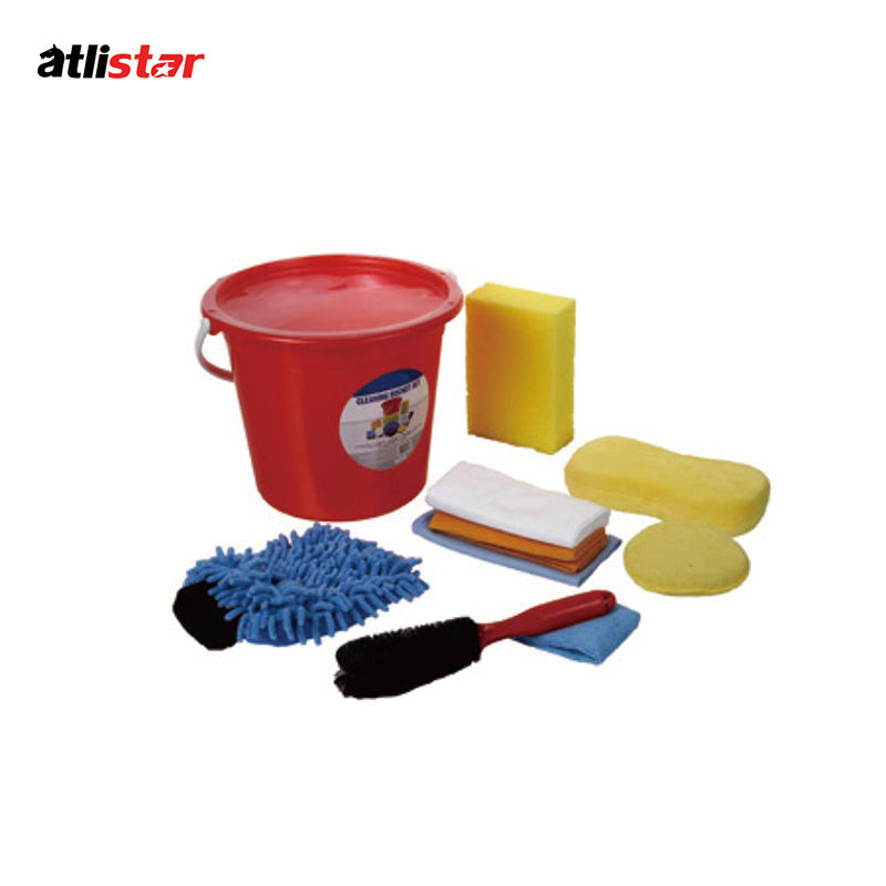 ATLI Car wash mitt handle wash kit for car/car wash cleaning kit/car microfiber cleaning set