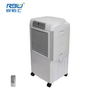 Indoor Portable Air Conditioner Cooler Fan Evaporative Air Cooler in White