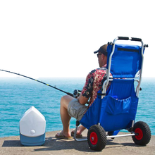 Foldable fishing chair cart used for fishing,photography,beach,hiking