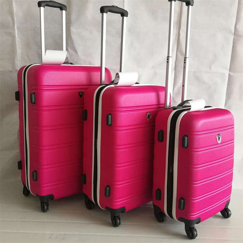 China made ZHUOLV colorful hard case suitcase luggage