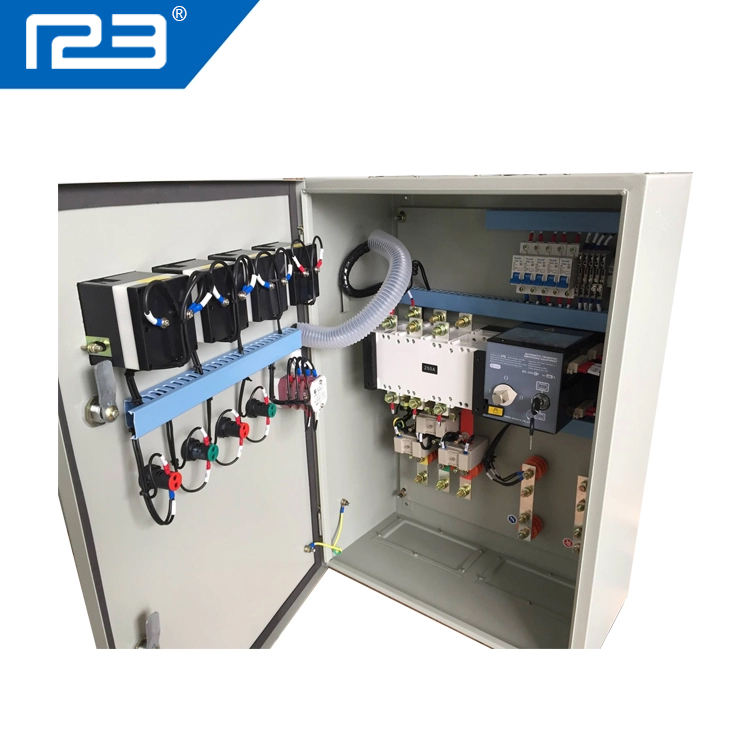 4P//63A Eapmic 50//60HZ AC-33iB AC 110V 63A 4P Self cast Conversion Mini Dual Power Automatic Transfer Switches ATS CB Level M6