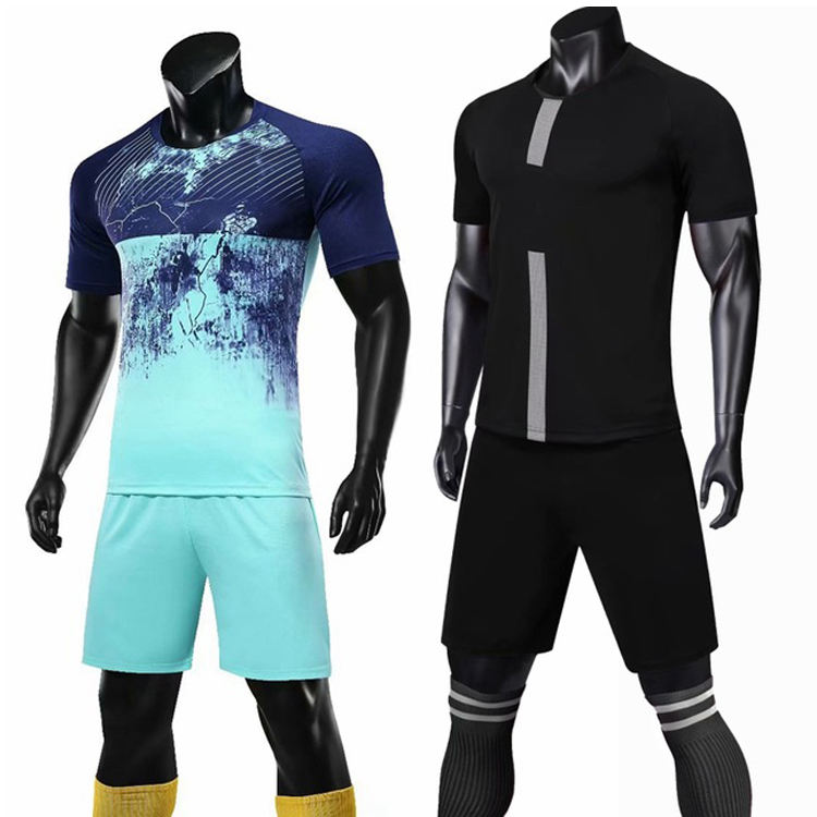 Custom New Model Latest Designs Men Football Shirt Maker Soccer Jersey/Football Jersey Set