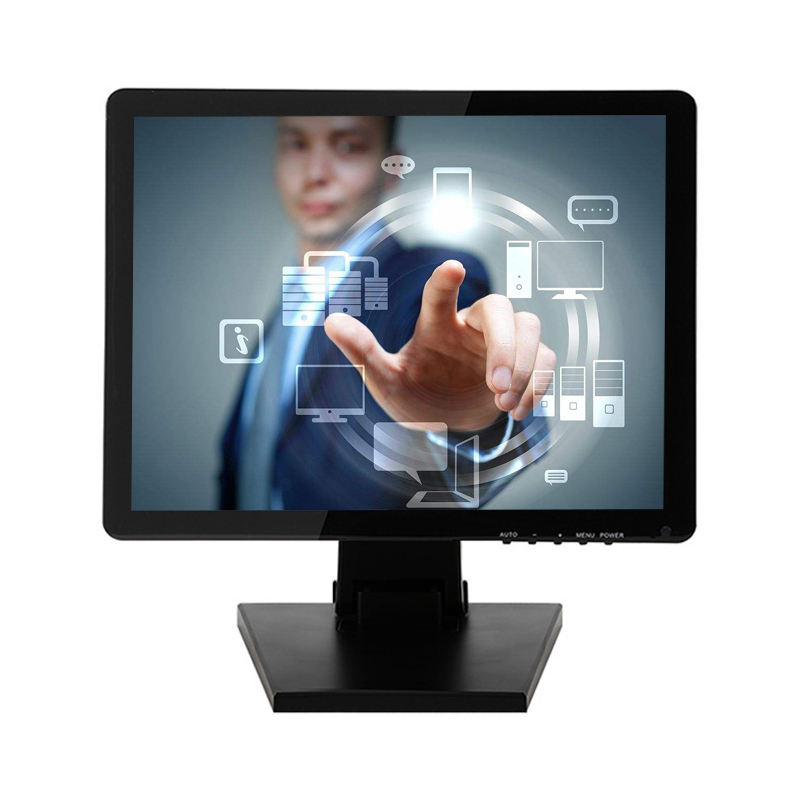 17 inch TFT LCD POS monitor industrial USB powered LCD touch screen