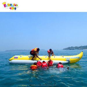 Lago disfrute barato deporte agua trineo barco de plátano inflable con alta calidad en venta