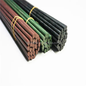 dyed color bamboo sticks for flower decoration