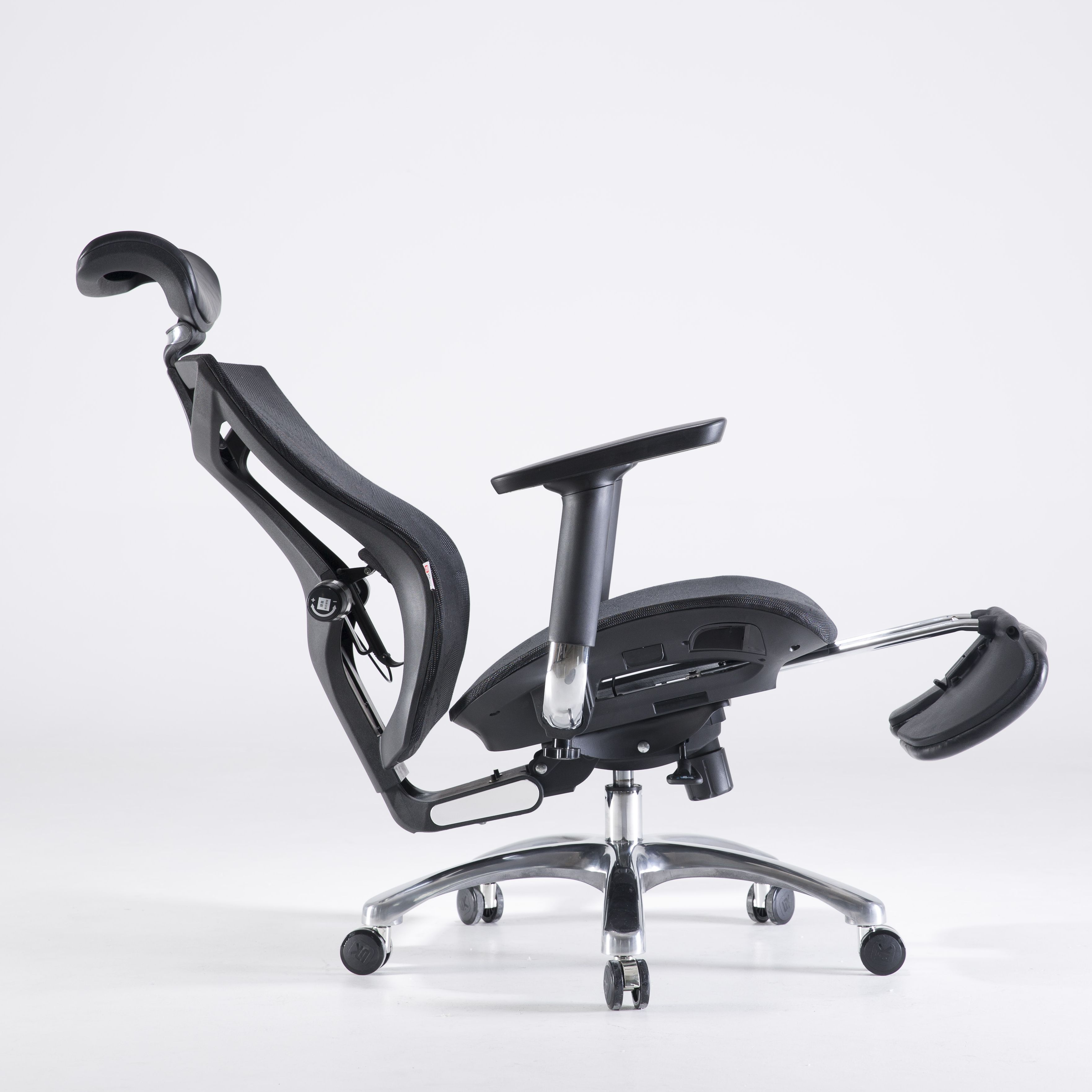 Past BIFMA High Tech Luxury mesh executive office chairs