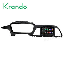 "Krando Android 7.1 8"" android car gps audio player navigation for HYUNDAI SONATA LF 2015-2017 car multimedia system BT KD-HY819"