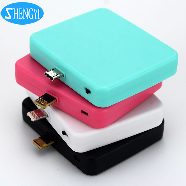Promotional Gifts 1000mAh 1500mAh Emergency Charger Disposable One Time Powerbank
