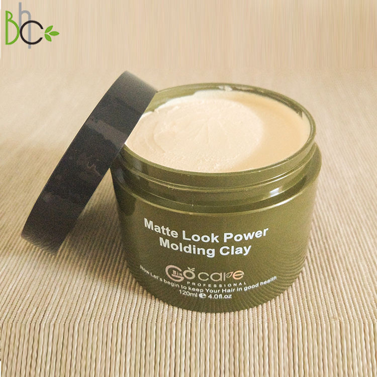 Wholesale Private Label Professional Strong Hold Matte Clay Pomade Edge Control