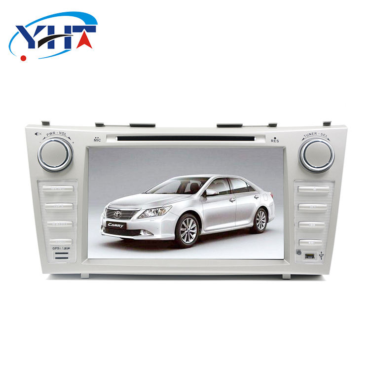 Doppel din head unit gps-navigation android auto dvd player für Toyota Camry