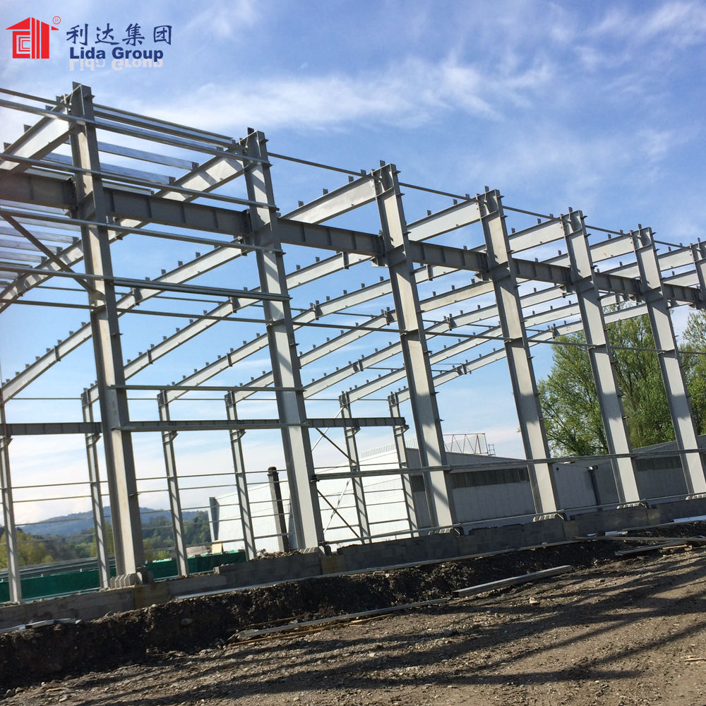 Easy To Design Used Warehouse Structural Steel H Beam