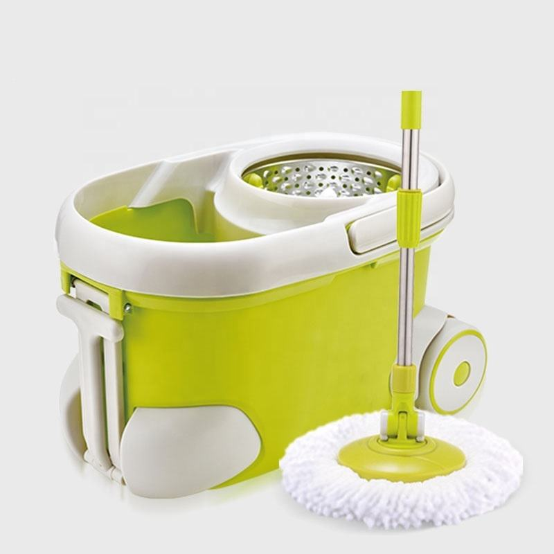 Magic 360 spin of mop bucket with wheels