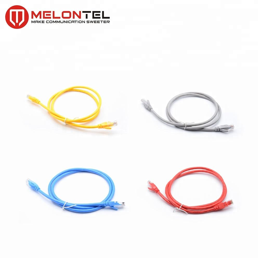 MT-5002 Made in China RJ45 Pass FlukeTest 4PR 네트워크 Jumper 선 Cat5E Cat6 UTP Patch Cord Cable