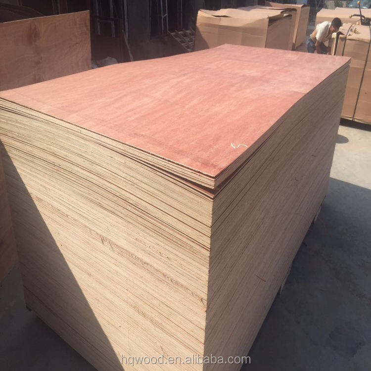 12mm/15mm/18mm Red hardwood face and back /poplar core /packing grade/ cheap plywood